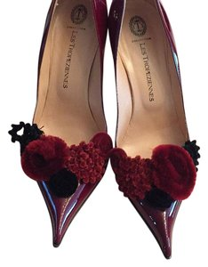 Les Tropeziennes Dark red Pumps