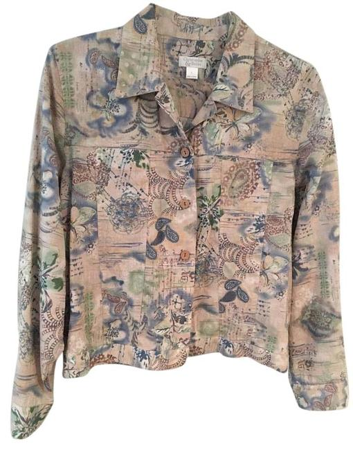 Preload https://img-static.tradesy.com/item/15984469/christopher-and-banks-multi-cream-blues-and-greens-jacket-size-12-l-0-1-650-650.jpg