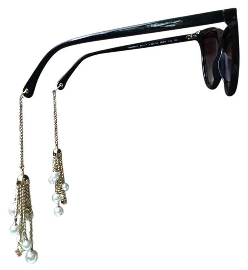 Preload https://item4.tradesy.com/images/chanel-black-5341-cat-eye-pearls-gold-chain-cc-earrings-coveted-sunglasses-15984478-0-1.jpg?width=440&height=440