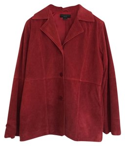 David Dart true red suede Leather Jacket