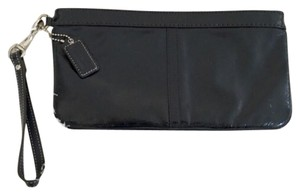 Coach Navy Clutch