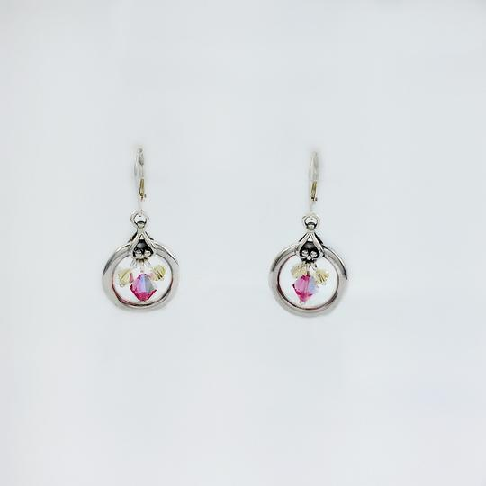 Other Sterling Circle Dangle Earrings