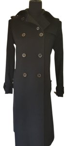 Max Mara Wool Trench Trench Coat