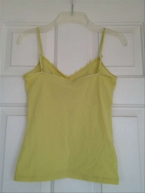 Ann Taylor Top Yellow /light green