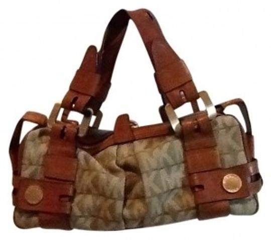 Preload https://item3.tradesy.com/images/michael-kors-sage-with-brown-leather-hobo-bag-159857-0-0.jpg?width=440&height=440