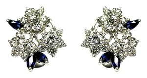 Flower Earrings Stunning Diamond Flower Earrings
