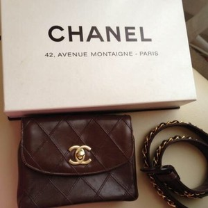 Chanel brown Travel Bag