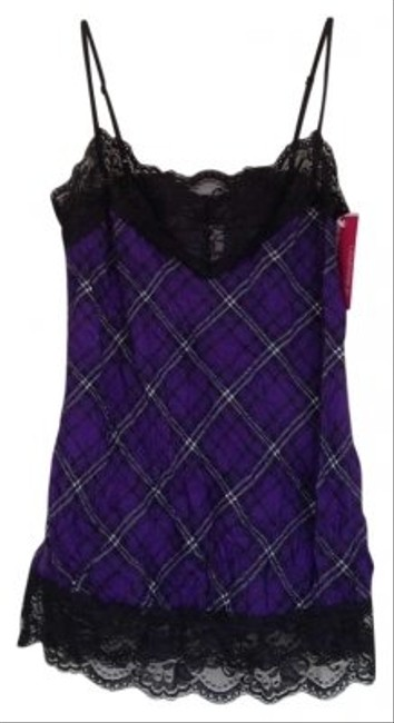 Xhilaration Top purple and black