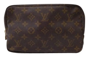 Louis Vuitton Brown Monogram Clutch