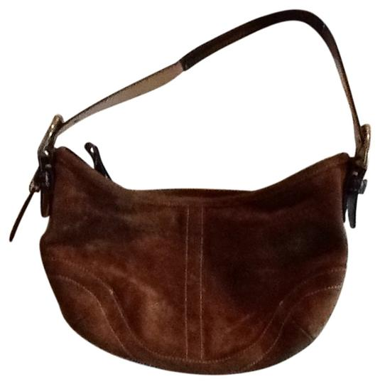 Preload https://item3.tradesy.com/images/coach-brown-suede-hobo-bag-159872-0-0.jpg?width=440&height=440