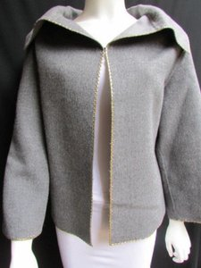 Valentino Boutique Women Gray Jacket