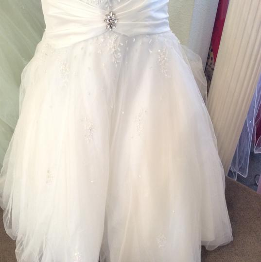 Tiffany & Co. White Tulle Vintage Wedding Dress Size 10 (M)