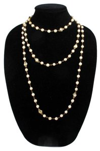 Chanel CRYSTAL PEARL NECKLACE - 69