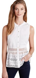 WOLVEN for ANTHROPOLOGIE Top White