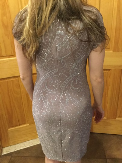 Preload https://img-static.tradesy.com/item/15988123/marina-taupe-silver-sparkle-knee-length-casual-bridesmaidmob-dress-size-6-s-0-1-540-540.jpg
