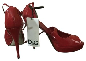 Dolce&Gabbana Heels Red Platforms