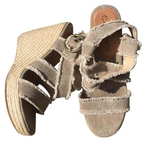 Coconuts by Matisse Tan Wedges