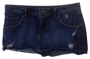 Mossimo Supply Co. Mini Skirt Blue jeans