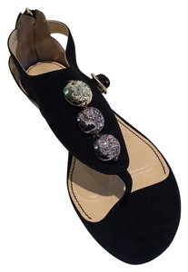 Jerome C. Rousseau Black Sandals