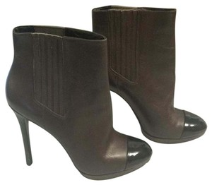 Brian Atwood Brown/Black Boots