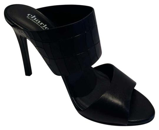 Preload https://item5.tradesy.com/images/charles-david-new-black-slip-on-leather-sandals-size-us-55-15988864-0-1.jpg?width=440&height=440