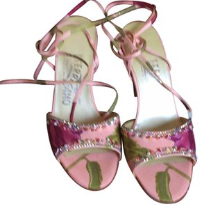 Salvatore Ferragamo Pinky peach with some wine some embellishment Formal