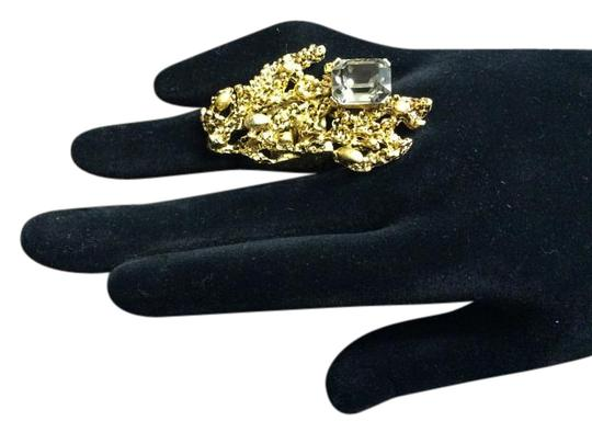 Other Articulated Satin Hamilton Gold Nugget Ring