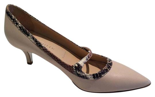 Preload https://item2.tradesy.com/images/new-made-in-italy-leather-snakeskin-trim-pumps-size-us-85-15989536-0-1.jpg?width=440&height=440