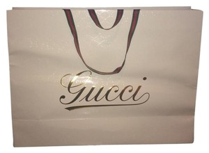 Gucci White Travel Bag