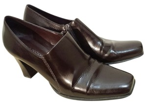 Franco Sarto Trouser Pump Loafer Brown Boots