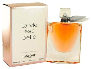 LA VIE EST BELLE by LANCOME L'eau de PARFUM Spray for Women 3.4 oz / 100 ml *Brand New*