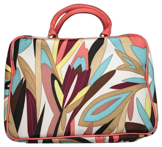 Preload https://img-static.tradesy.com/item/15990580/missoni-for-target-colore-coral-blue-fabric-satchel-0-1-540-540.jpg