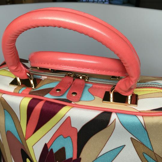 Missoni for Target Satchel in Coral, Blue