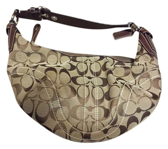 Preload https://item1.tradesy.com/images/coach-clutch-browntan-1599065-0-0.jpg?width=440&height=440