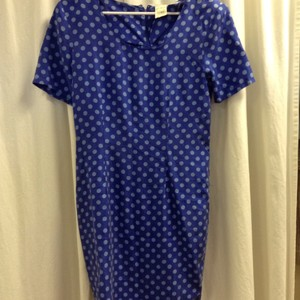 Jonathan Martin Vintage Silk Polka Dot New Dress