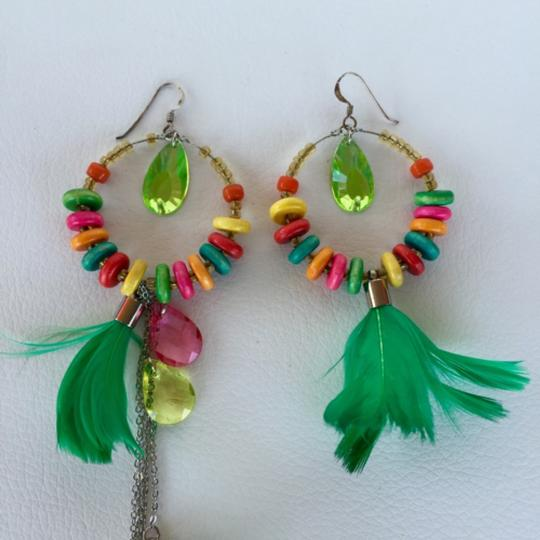 Anthropologie Anthropologie UK designer feather earrings