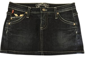 Robin's Jean Mini Skirt Denim