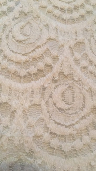 Banana Republic Lace Eyelet Summer Preppy Mini Skirt White