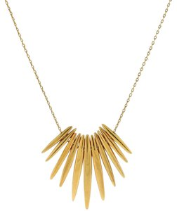 Michael Kors Michael Kors MKJ4505 Women's Gold tone Tribal Pendant Chain Necklace