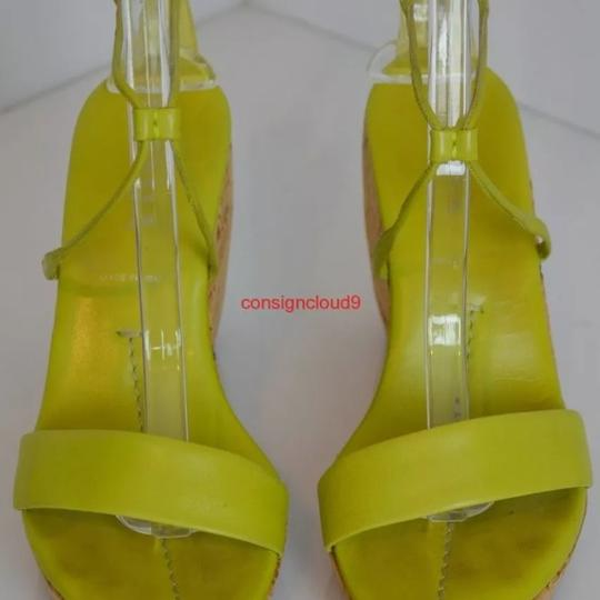 Prada Lime green Wedges