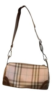 Burberry Satchel in Light pink plaid