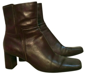 Nine West Leather 6.5 Brown Boots