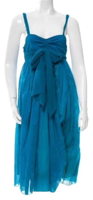 Preload https://item5.tradesy.com/images/jean-paul-gaultier-turquiose-mid-length-casual-maxi-dress-size-8-m-15991309-0-1.jpg?width=400&height=650