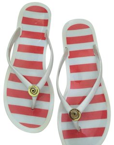 Mudpie White / Orange / Gold Sandals