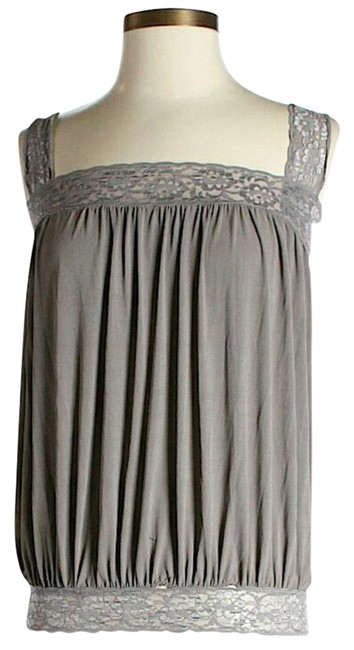 Preload https://item3.tradesy.com/images/mason-by-michelle-mason-grey-open-back-blouse-size-6-s-15991402-0-1.jpg?width=400&height=650