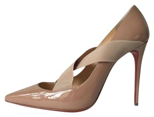 Christian Louboutin Sharpstagram So Kate Pigalle Follies Patent Nude Pumps