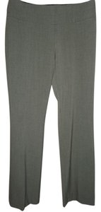 Maurices Dressy Work Double Band Waist Zipper Classic Trouser Pants Taupe
