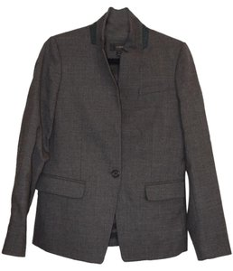 J.Crew Work Attire Accent Piece Grey w/ Green trim on collar Blazer