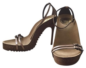 Stella McCartney Taupe Platforms