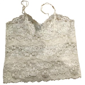Abercrombie & Fitch Sexy Lace Top white